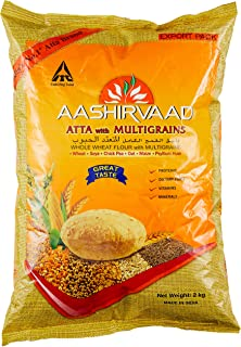 Aashirvaad Whole Wheat Flour Atta with Multigrain - 2 kg