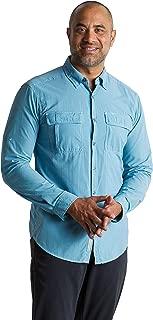 ExOfficio Men's BugsAway Halo Check Lightweight Long-Sleeve Shirt