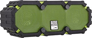 Altec Lansing Imw477 Mini LifeJacket 2 Bluetooth Speaker, IP67 Waterproof, Shockproof, Snowproof and IT Floats Rating, with 10 Hours of Battery Life, 30 Foot Wireless Range, Green/Black