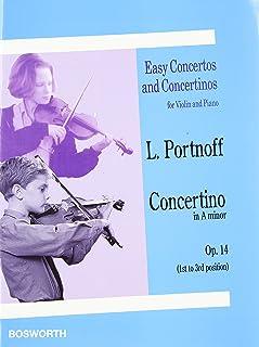 Concertino in a Minor Op. 14: Violin and Piano