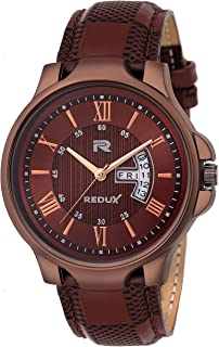 Redux Analogue Day Date Functioning Men's & Boy's Watch V200