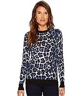 MICHAEL Michael Kors - Printed Sweater Top
