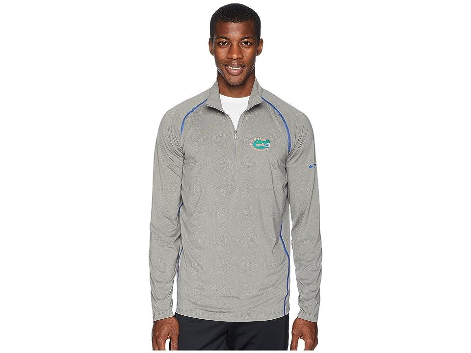 Columbia Collegiate Tuk Mountaintm 1/2 Zip Shirt (Florida/Boulder/Azul) Men