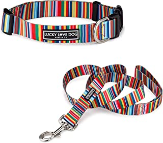 Lucky Love Dog Collars | Extra Cute Soft Custom Designed Collars for Boy and Girl Dogs | Part of Purchase Donated to Dog Rescue