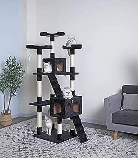 Best cat tower black Reviews