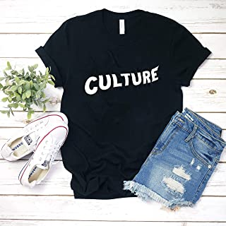 Culture (Migos) White T-Shirt Hoodie for men woman