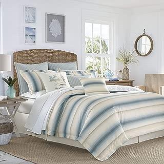Tommy Bahama La Prisma Stripe Comforter Set, King, Blue