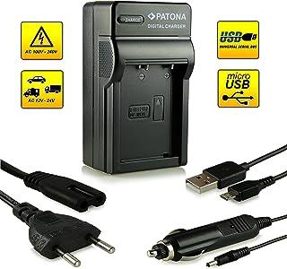 ¡Novedad! – El primero cargador de batería con conexión micro USB · adecuado para la batería NP-W126 para FujiFilm FinePix X-Pro 1 | HS30 EXR | HS30EXR | HS-30EXR | HS33 EXR | HS33EXR | HS-33EXR | HS50EXR | X-E1 | X-M1 y mucho más…