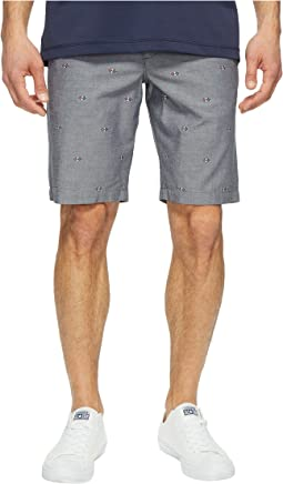 10 Argyle Printed Oxford Shorts