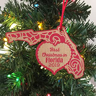 First Christmas in Florida 2019 Christmas Ornament