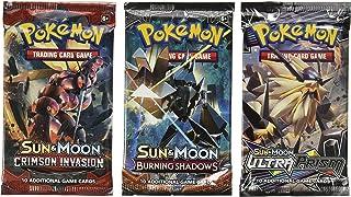 Pokemon Cards - 3 Booster Packs (Random Packs)