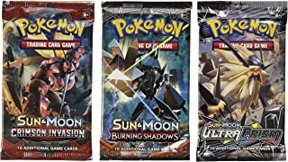 Pokemon Cards - 3 Booster Packs (Random Packs)