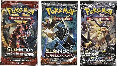 Pokemon Cards – 3 Booster Packs (Random Packs)