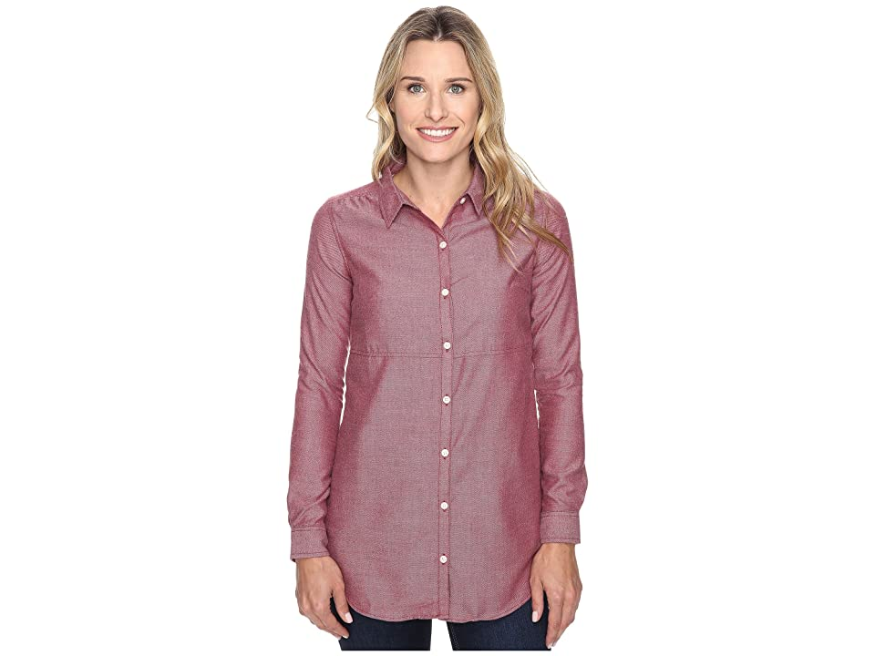 Toad&Co Dakotah Travel Tunic (House Red) Women
