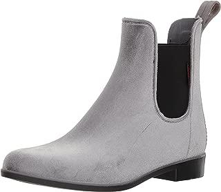 Women's Waterproof Fashion Velvet Bootie with Memory Foam Chelsea Boot