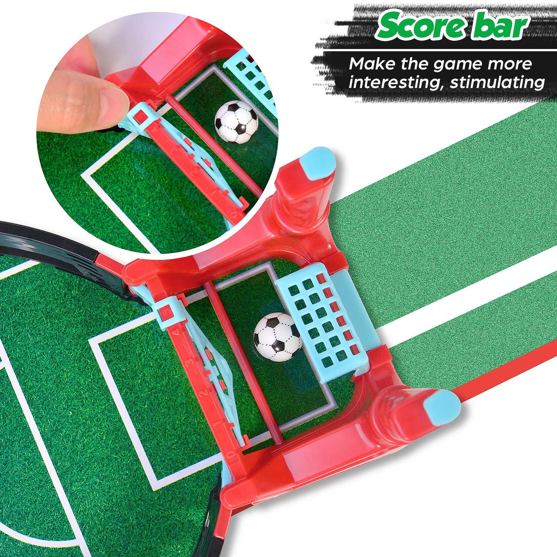 Kriogor Mini Mesa De Futbolín Juegos, Mesa de Juego de futbolín ...