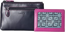 Lodis Accessories Audrey RFID Bev Cards Keys Coins Pouch