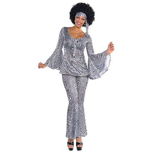 ed28a5db Amscan International Adults Dancing Queen 70's Costume (UK ...