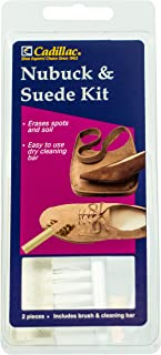 Nubuck & Suede Cleaner Kit - Brush and Eraser - Remove Stains & Clean Shoes Boots Bags Coats & More