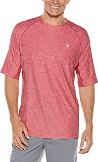 Coolibar UPF 50+ Men's Short Sleeve Performance Tee - Sun Protective