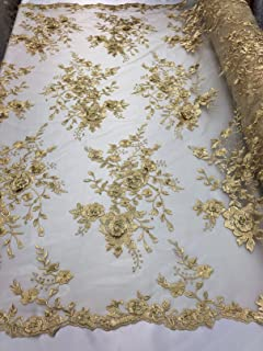 beaded gold fabric