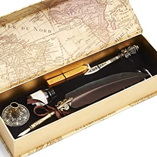 feather quill calligraphy pen