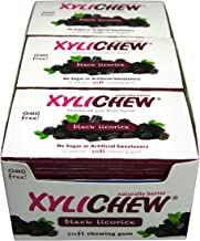 Xylichew Naturally Better Gum, Licorice, 12 Count (Pack of 24)