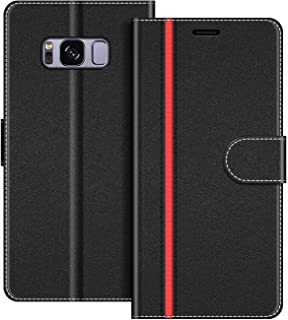 COODIO Custodia per Samsung Galaxy S8, Custodia in Pelle Samsung Galaxy S8, Cover a Libro Samsung S8 Magnetica Portafoglio...
