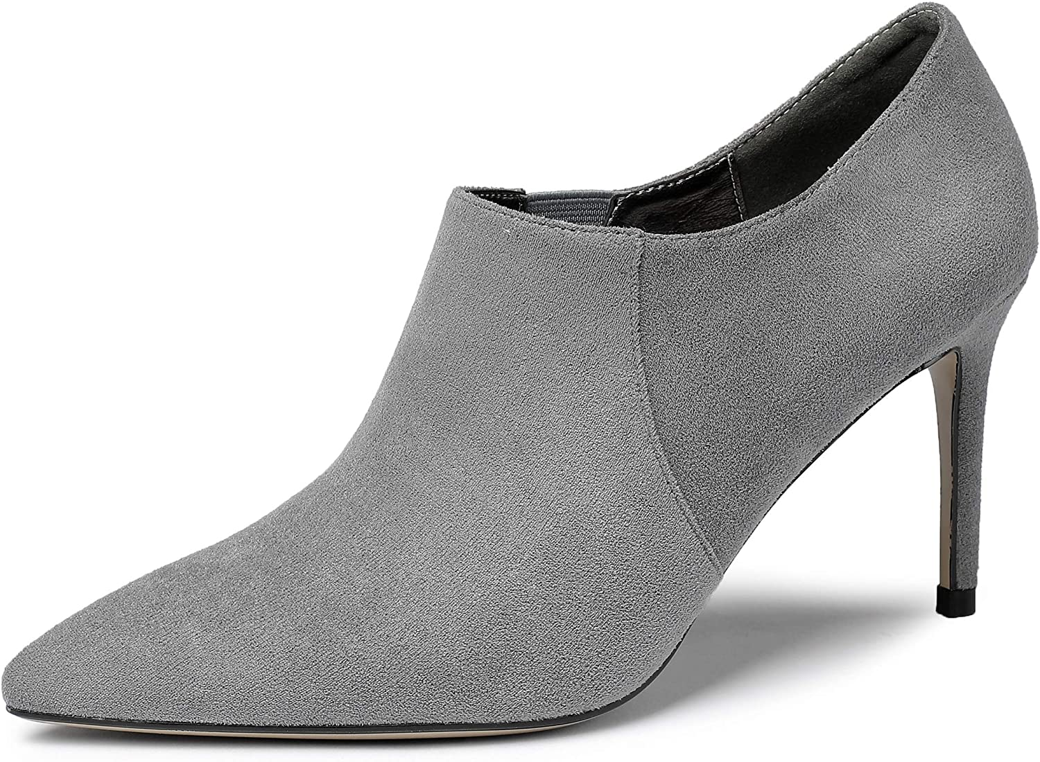 YODEKS 1 year warranty Women's Pointed Toe Max 77% OFF Ankle Boots 8CM High S Heels Stiletto
