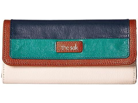 Stripe Flap Wallet Monterey The Iris Sak nBaWqX6
