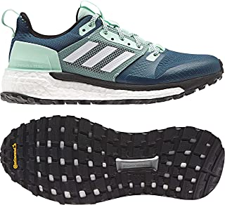 84f5b633508d41 adidas outdoor Women s Supernova Trail Real Teal White Clear Mint 6.5 ...