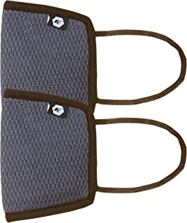 Fort Collins Unisex Cotton Face Mask (Pack of 2) (126_Grey_One Size)
