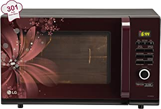 LG 32 L Convection Microwave Oven (MC3286BRUM, Black)