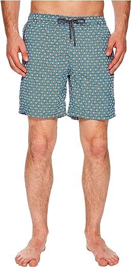 Mr. Swim - Geometric Printed Dale Swim Trunks
