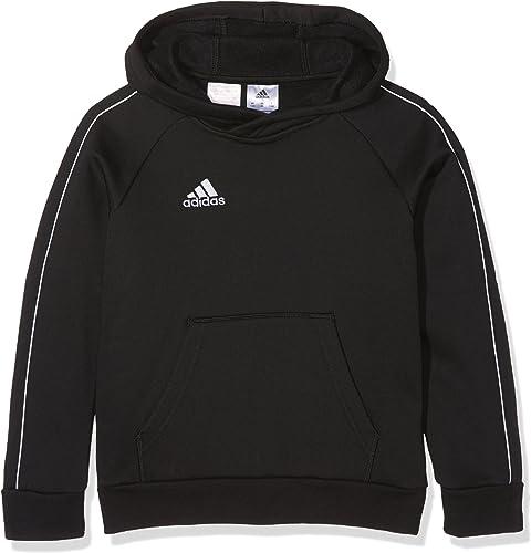 adidas Core 18 Sweat-Shirt à Capuche Mixte Enfant