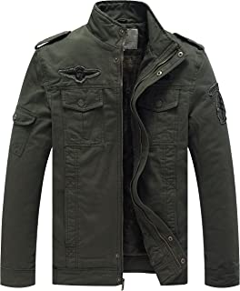 Men's Winter Military Style Air Force Jacket