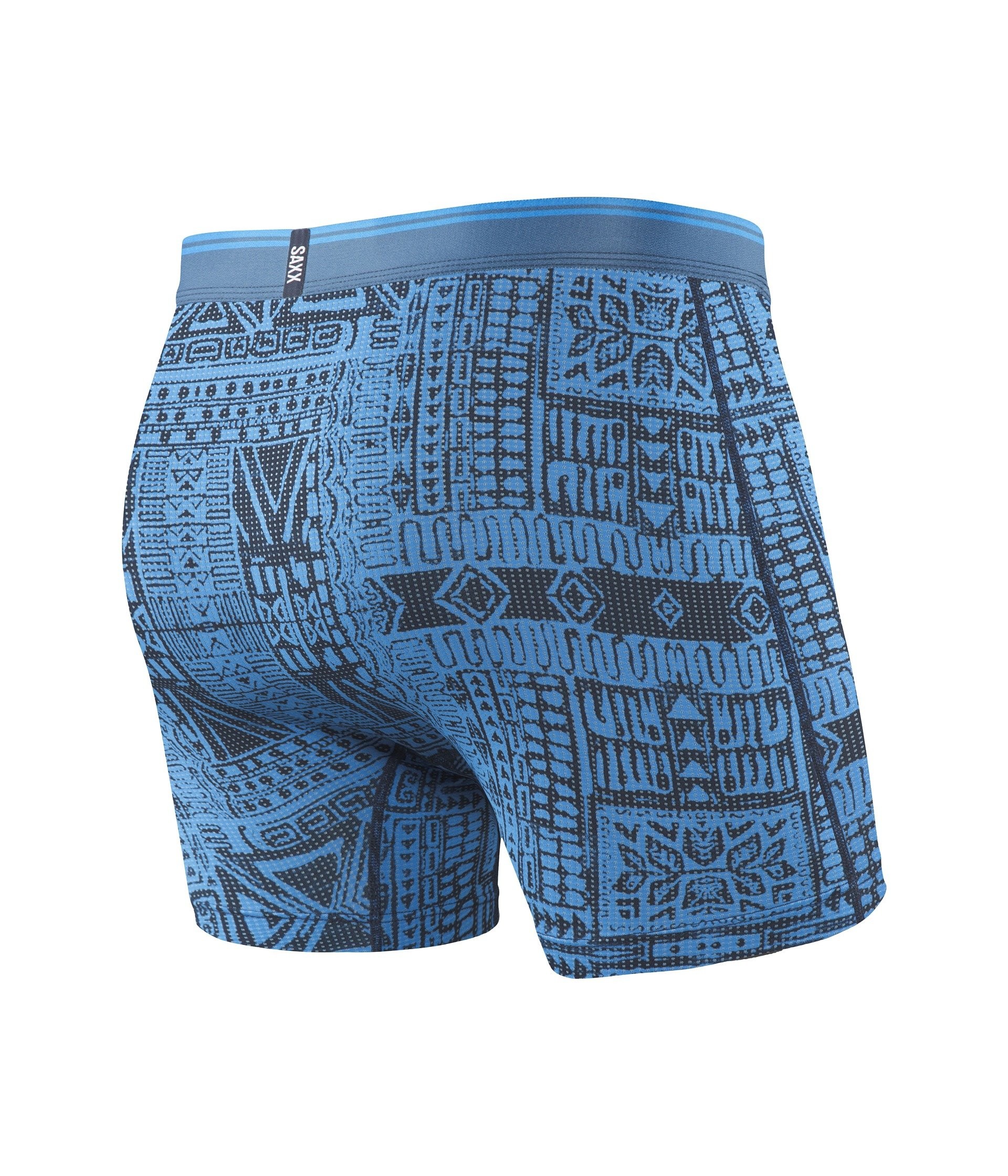 Underwear 0 Print Tribe Dive Quest Fly 2 Saxx Blue Boxer 7xd1nqpTw