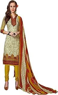 Minu salwar Cotton Printed Suit sets Multi(Mannat_1010_0)