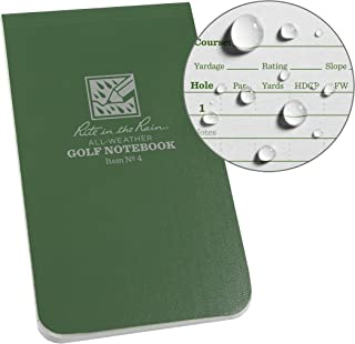 golf score books