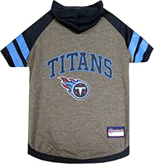 Pets First Tennessee Titans Hoodie T-Shirt, X-Small