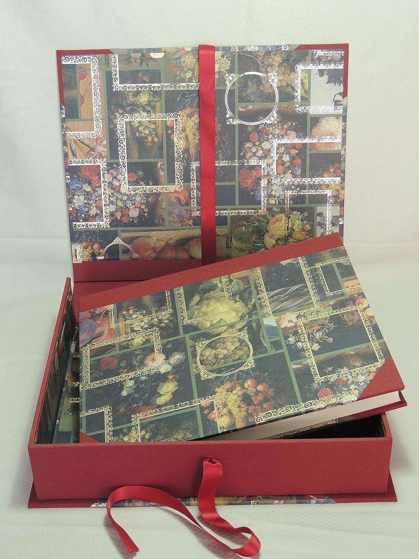 HANDERBEIT FOTO ALBUM 20 x 25cm - 30 blatter - mit BOX B074YJK2M9  | Lebhaft und liebenswert