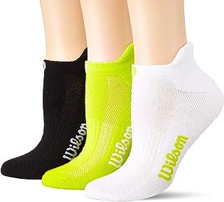 Wilson womens Athletic Low Cut Socks, 3 Pairs