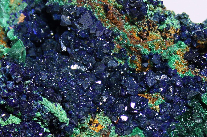 Incredible Azurite Malachite Crystal Specimen Easy-to-use - Popular popular Mine La Sepom