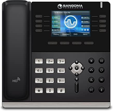 $149 » Sangoma s500 VoIP Phone with POE (or AC adapter sold separately)