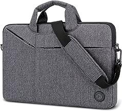 Laptop Bag,BRINCH Slim Water Resistant Laptop Messenger Bag Portable Laptop Sleeve Case Shoulder Bag Briefcase Handbag with Strap for 13-14 Inch Laptop/Notebook Computer Men/Women,Dark Grey