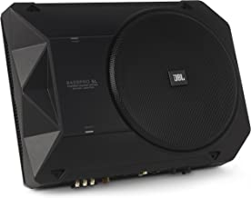 JBL BassPro SL 8-inch 125W RMS Powered Under-Seat Compact Subwoofer Enclosure System (250..