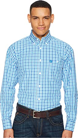 George Strait Long Sleeve Plaid
