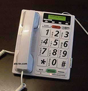 Totally Voice Activated Telephone Dialer - Hands Free - No Buttons to Push to Activate It