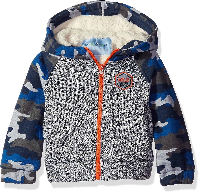 Wippette Boys' Baby Full Sweater Knit JKT