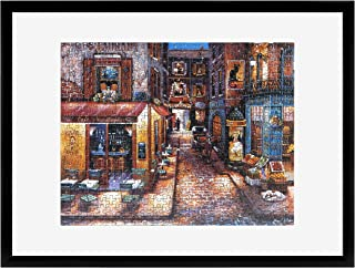 MCS Frame for Puzzle Sizes 20 Inch by 27 Inch and Smaller, Black Finish, 20